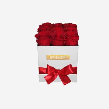 Vörös rózsadoboz – ÖRÖK – Kocka – Kicsi