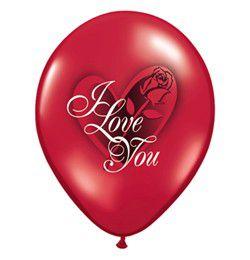 "Lufi – ""I love you"" feliratos – 28 cm"