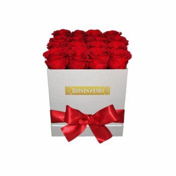 Vörös rózsadoboz – ÖRÖK – Kocka – Közepes