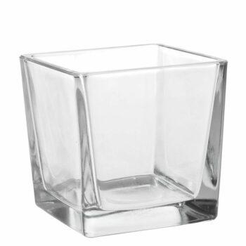 Üveg váza 12cm